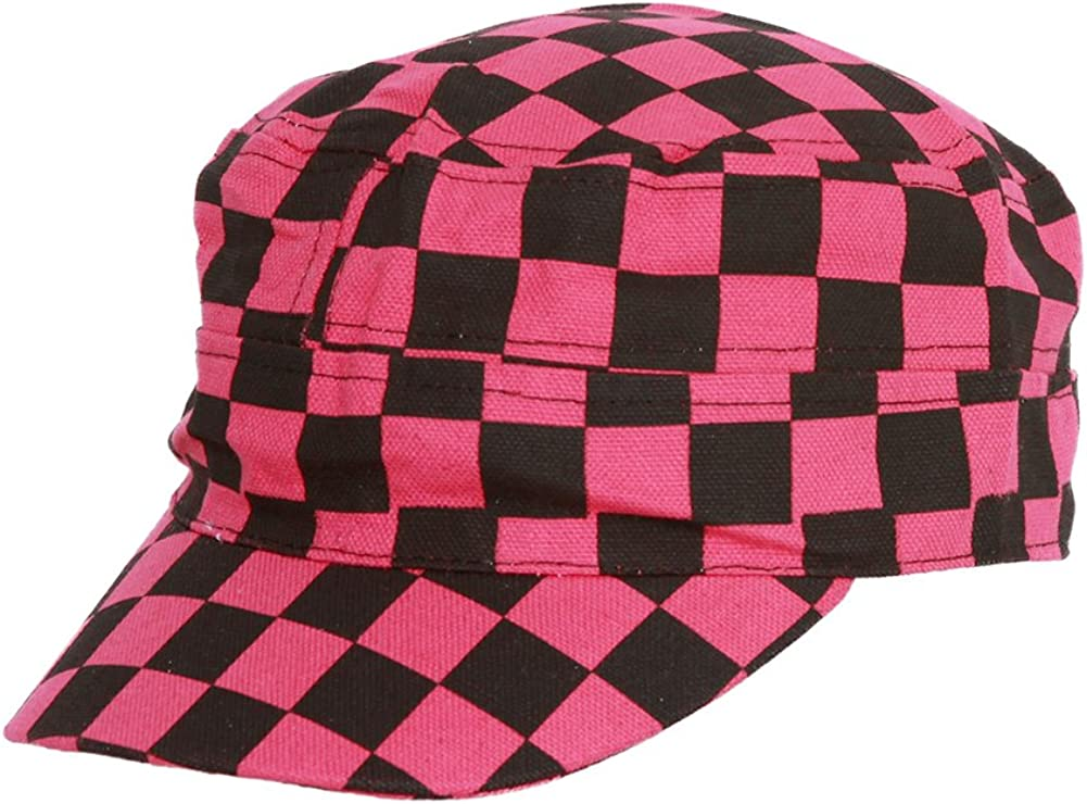 CLOVER Checkered Print...