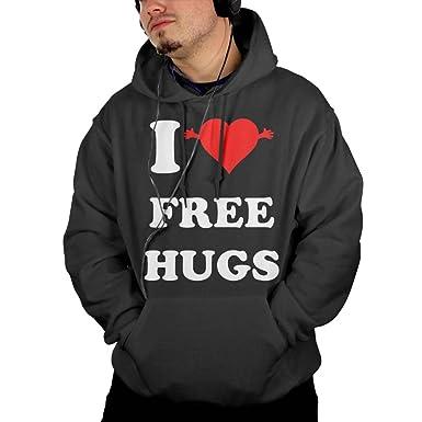 Amazon Cgyio I Love Free Hugs Symbol Logo Nice Sweatershirt
