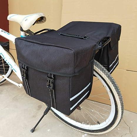 KUANDAR Mas Bolsillos Bolso para Bicicleta Moderno 2 En 1 Bolsa De ...