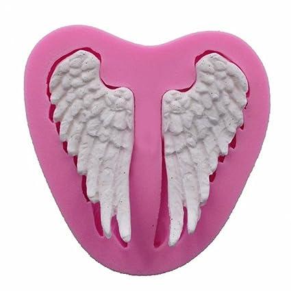 Angel Wings Silicone Chocolate Mold Cake Decorating Sugarcraft Baking Mold DIY Home, Furniture & DIY