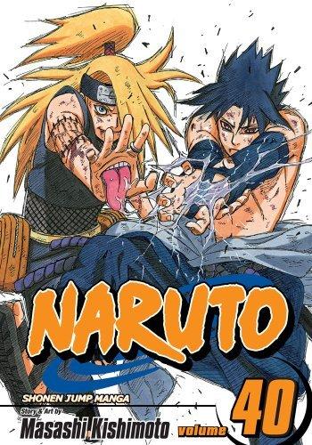 Amazon.com: Naruto, Vol. 40: The Ultimate Art (Naruto ...