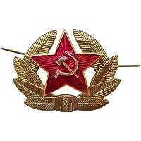 USSR Army Soldier Officer Hat Emblem
