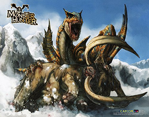 CWS Media Group Monster Hunter Wall Scroll Poster