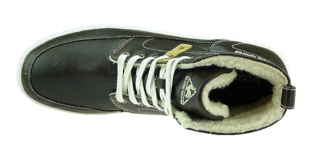 a01780d3f8 Le Coq Sportif Shoes Chukka Sneaker Men's Fur Lined Winter Boots Black Size:  12 UK: Amazon.co.uk: Shoes & Bags