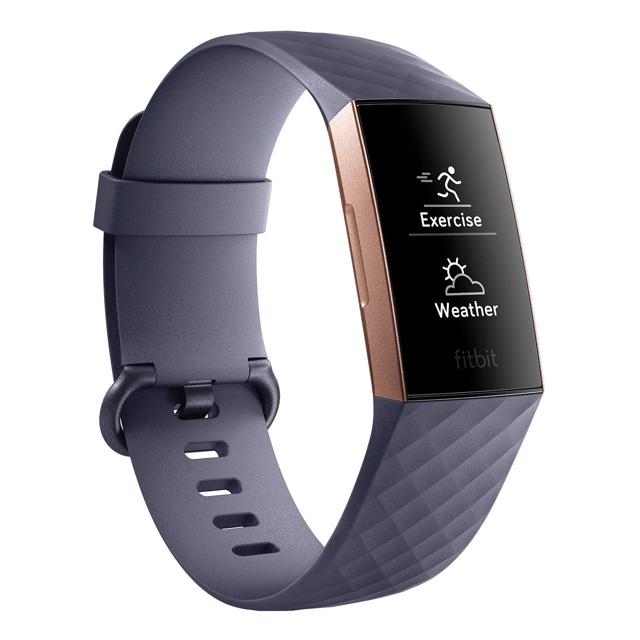 Fitbit Charge 3 Fitness Activity Tracker (Rose Gold and Blue...