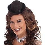 Amazon.com  dreamflyingtech Black Bowler Hat 1 12 Scale Handmade ... 72caf2092ffd