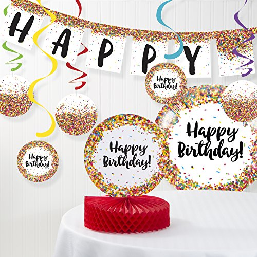 Confetti Sprinkles Birthday Decorations Kit