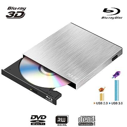 schriftsteller/blu-ray Externe Externer Speicher Ultra Slim 3d Blu-ray Player Tragbare Externe Usb 3.0 Reader/ Schriftsteller Bd-rw Für Apple Macbo