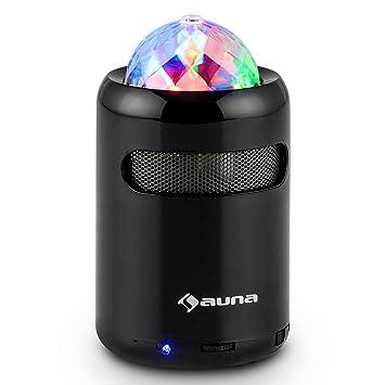 Auna Discohead Enceinte Bluetooth Avec Effet LED Amazonfr Hightech - Enceinte port usb
