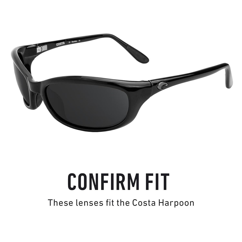 c17a052cb2515 Amazon.com  Revant Polarized Replacement Lenses for Costa Harpoon Elite  Black Chrome MirrorShield  Sports   Outdoors