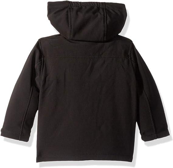 All Star Black Reebok Boys Big Active Super Soft Shell Jacket 10//12