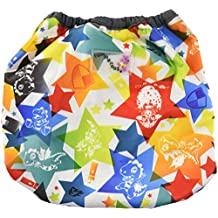 Kanga Care Rumparooz One-Size Cloth Diaper Cover, Snap, Dragons Fly, Castle