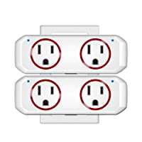 Deals on 2-Pack OUKITEL WiFi Smart Plug Socket