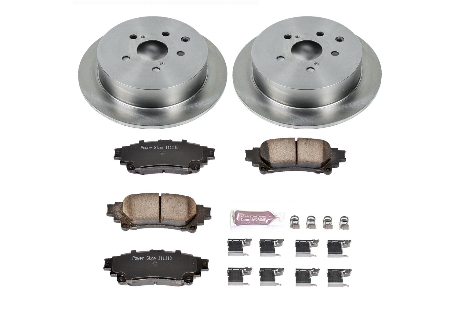 Autospecialty (KOE5864) Daily Driver OE Brake Kit, Rear by POWERSTOP