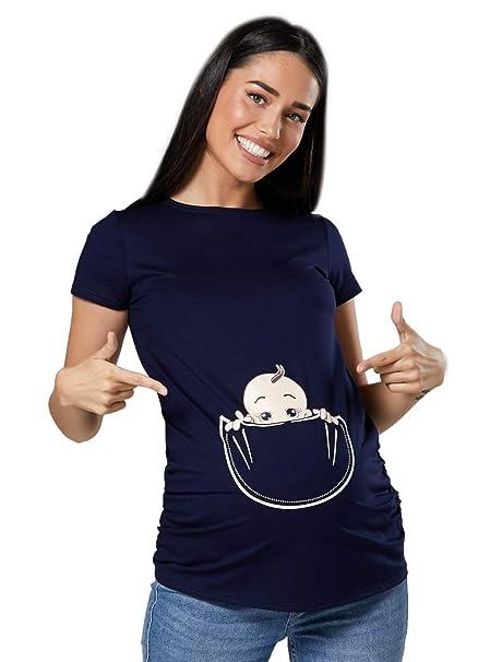 Camiseta embarazada kiabi