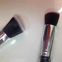 Amazon Com Roybens Premium Wood Handles 10 Piece Professional Cosmetic Kabuki Makeup Brush Set Cosmetics Foundation Blending Blush Concealer Eyeliner Face Powder Brush Suit With Pu Leather Case Beauty