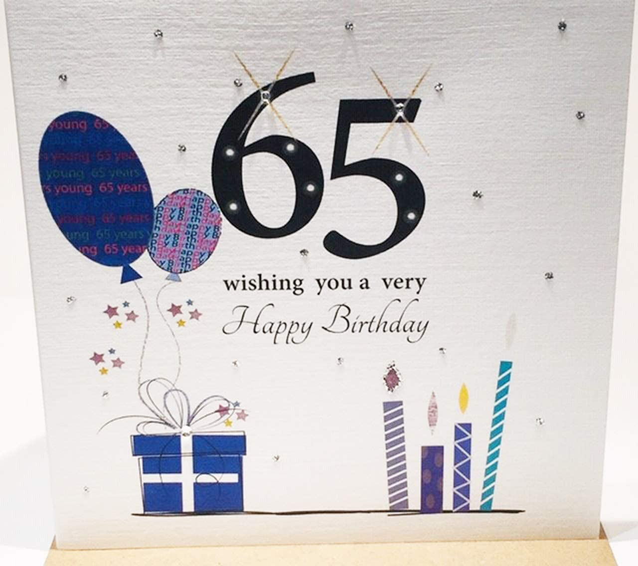 65th birthday card For a Man Male ~ choice of designs