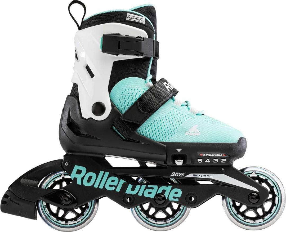 Rollerblade MICROBLADE 3WD G Inline Skate 2021 Aqua//White