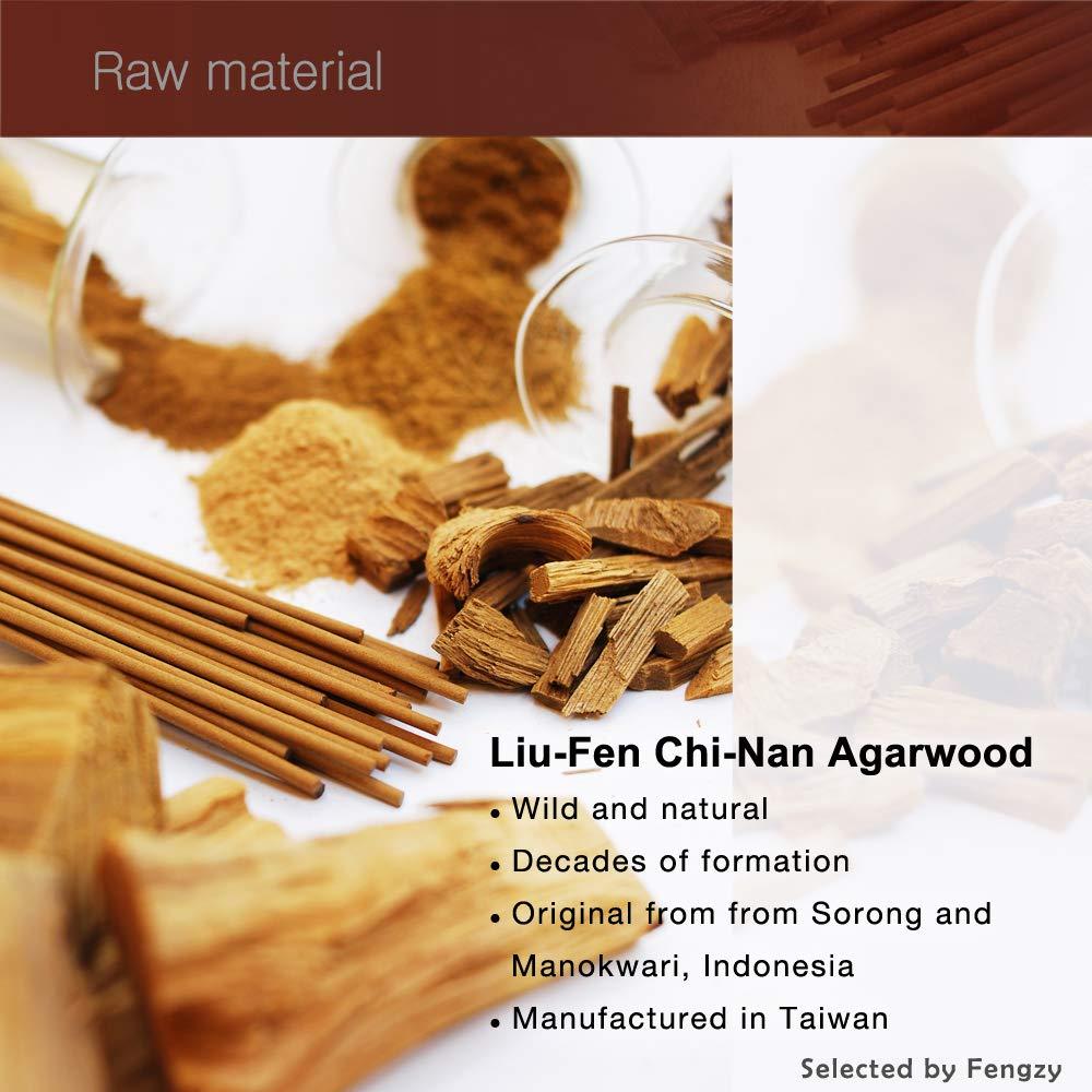 Fushankodo for Brand Incense Sticks - Chi-Nan (Liu-Fen) Agarwood Aloeswood - Origin Sorong and Manokwari Indonesia (135mm/5.3'') by Fushankodo (Image #2)