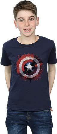 Marvel niños Avengers Captain America Art Shield Camiseta