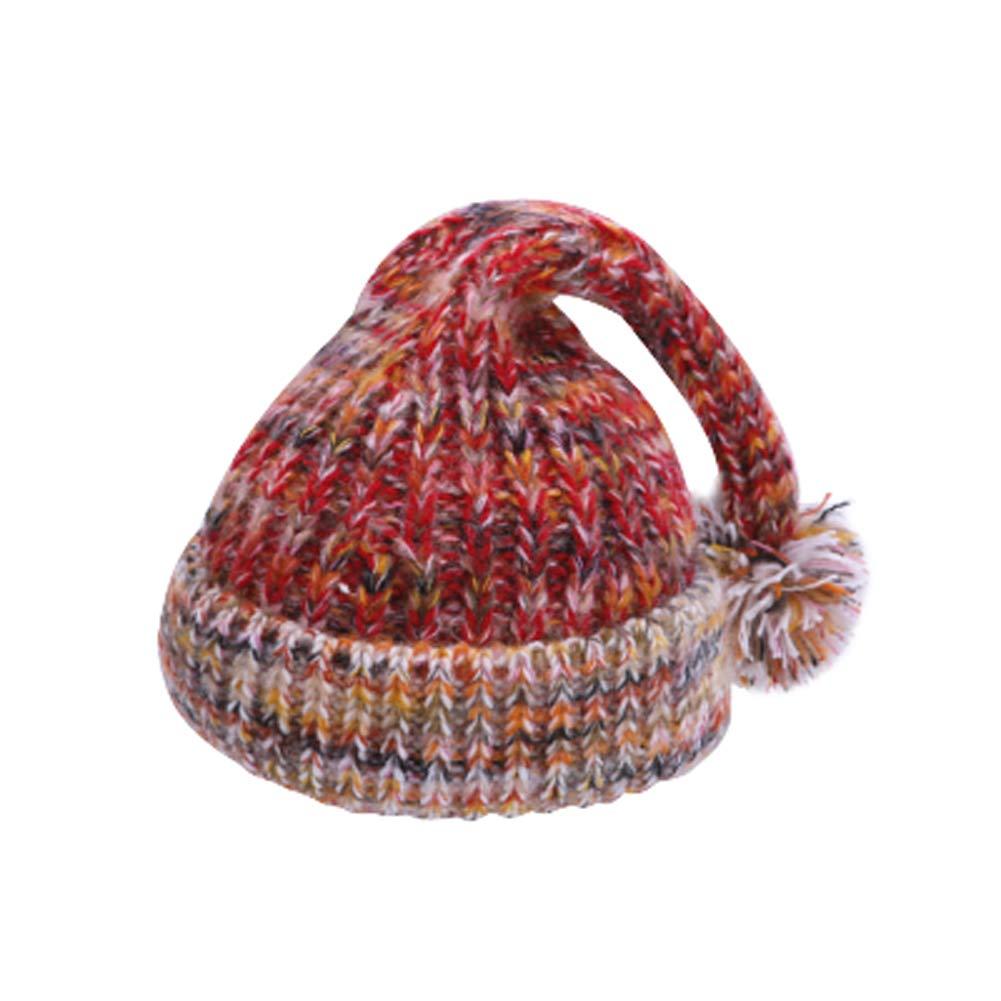 FCTREE Baby Hat Infant Toddler Winter Knit Hat Warm Pom Pom Bobble Hat Kids Beanie Cap