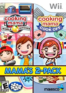 Amazon.com: Cooking Mama 2-Pack - Nintendo Wii: Majesco
