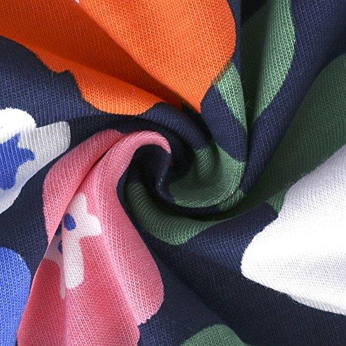 Moresave Robe décontractée en coton à manches longues et à manches longues