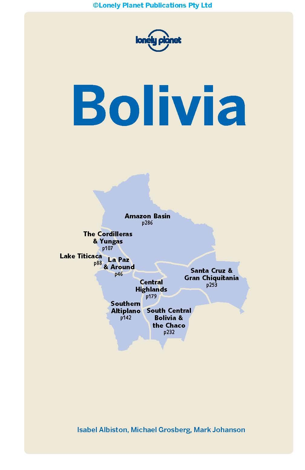 Lonely Planet Bolivia 21 Country Guide  Albiston, Isabel ...