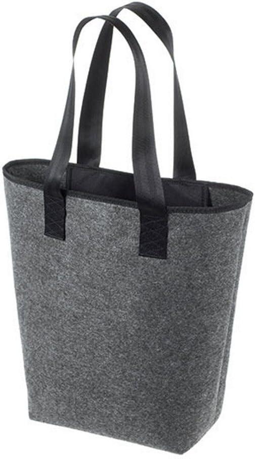 Farbe:Anthracite HALFAR/® HF5710 Shopper Newclassic Freizeittaschen Einkaufstaschen Tasche