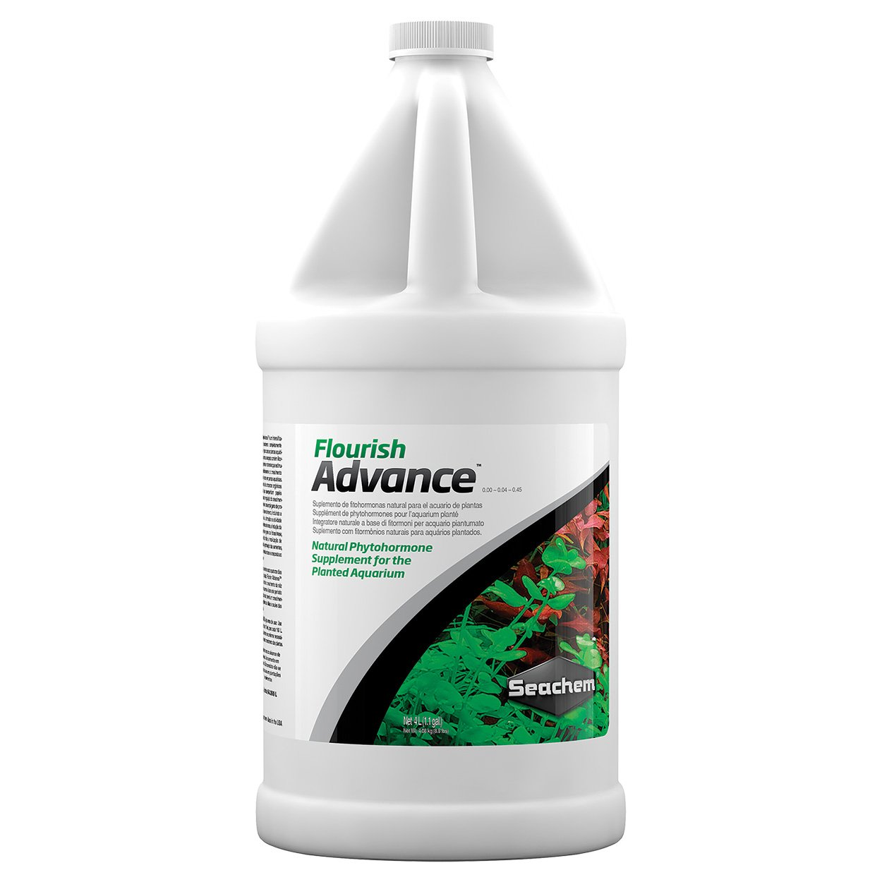 Seachem Flourish Advance Growth Supplement - Aquatic Plant Aid 4 L by Seachem (Image #1)