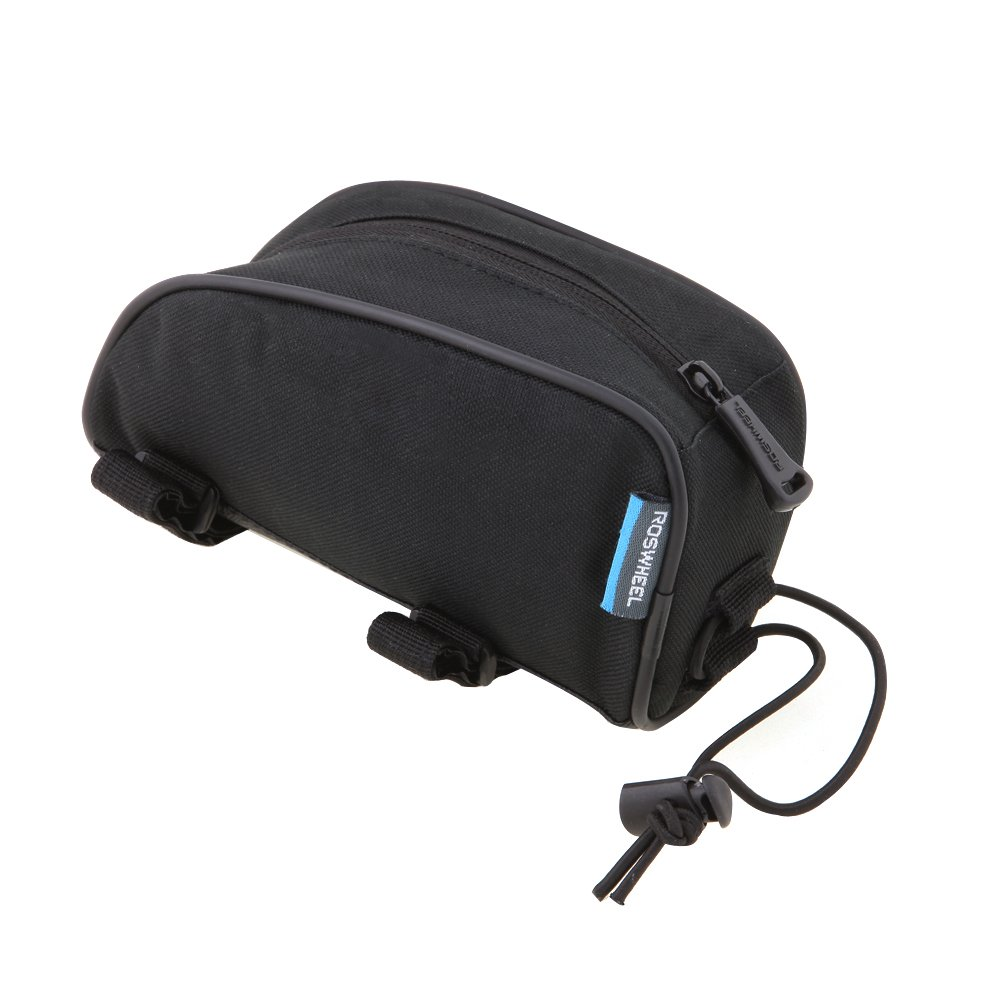 ROSWHEEL Multi-function Bicycle Front Frame Tube Bag Bike Saddle Bag Panniers Outdoor Cycling Sports by Roswheel