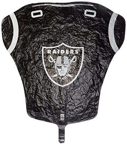 (Anagram International Oakland Raiders Jersey Flat Party Balloons, 24