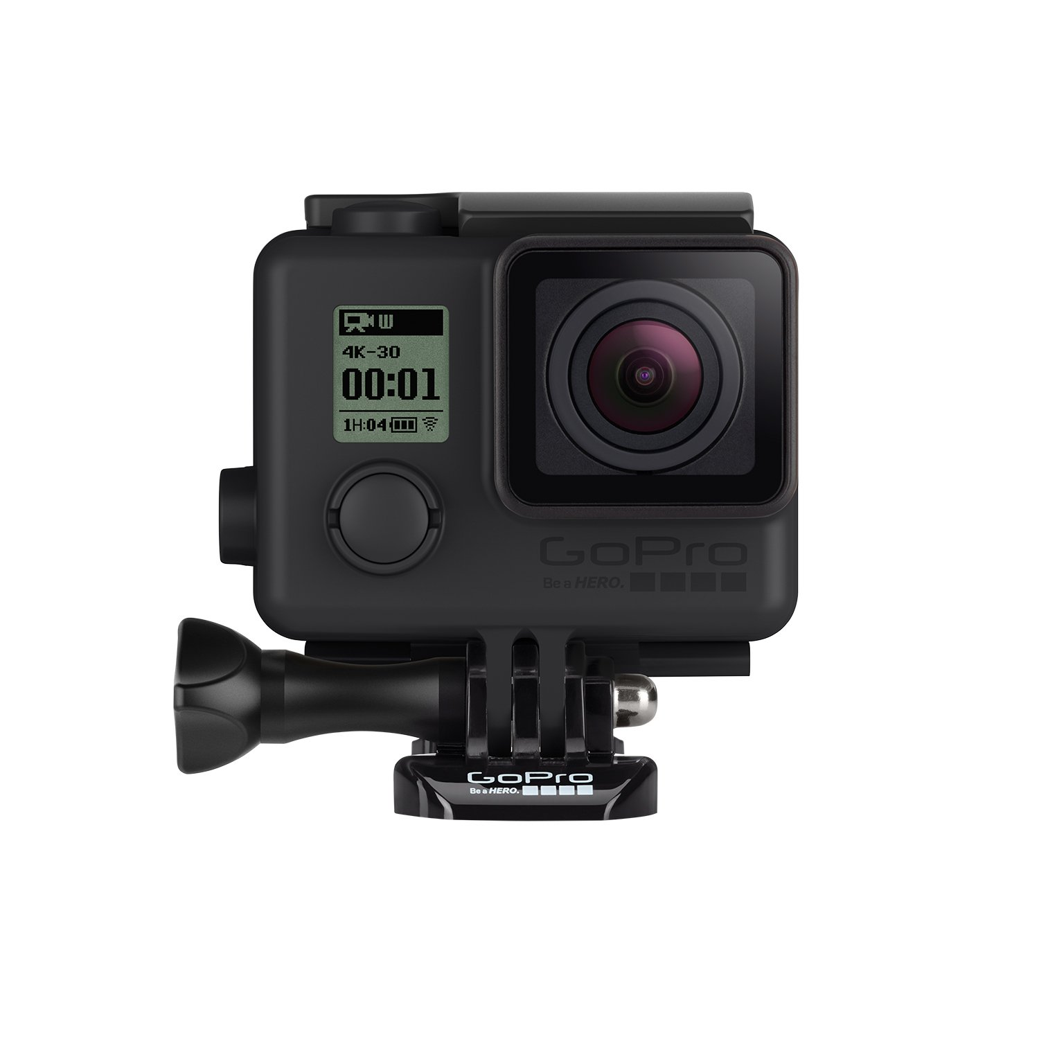 GoPro AHBSH-401 Waterproof to 131' (40m) Blackout Housing (Matte Black) by GoPro