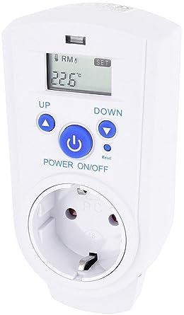 Universal entre Conector con termostato 230 V – Enchufes de termostato 3600 W