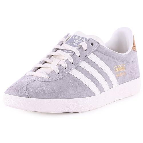 adidas Gazelle OG W - Zapatillas para Mujer, Color gry/Wht, Talla 42 EU: Amazon.es: Zapatos y complementos