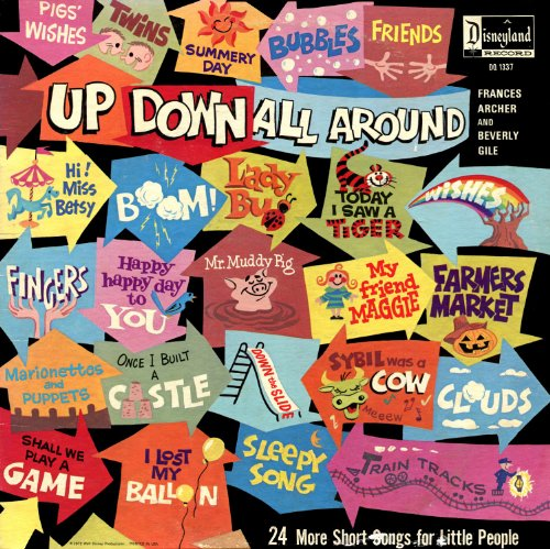 Up Down All Around - 24 More Short Songs for Little People