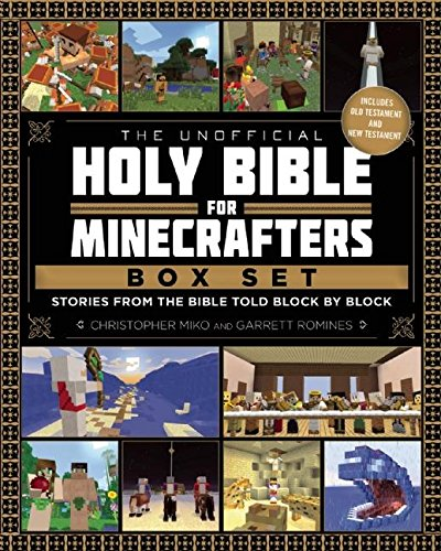 The Unofficial Holy Bible for Minecrafters Box Set: Stories from the Bible Told Block by Block by Minecraft
