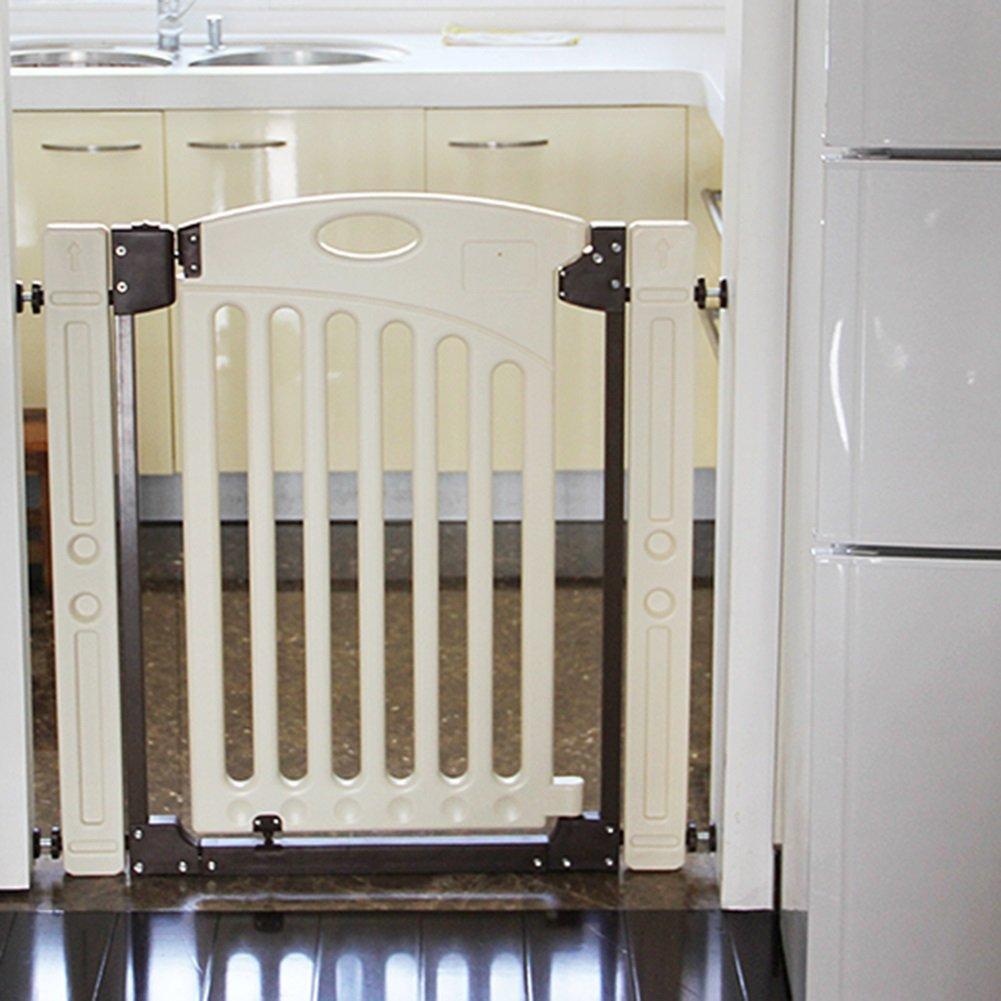 YHDD 格納式ベビードア子供バルコニー保護手すりペット分離ドア階段フェンスキッチンフェンス (サイズ さいず : 80-89cm) 80-89cm  B07Q9HPFTD