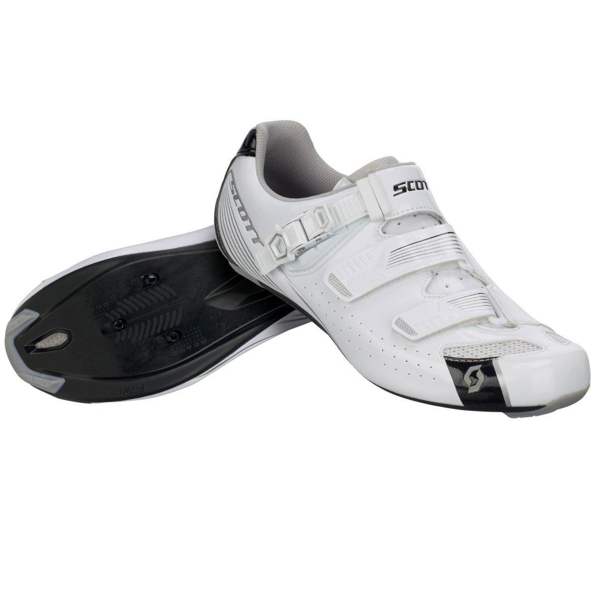 Scott 2017 Womens Road Pro Lady Bike Shoes - 251823 (Gloss White/Gloss Black - 40)