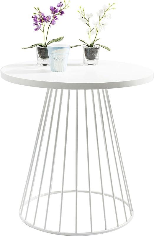 Kare Design Table D Appoint Design Blanche 75 Cm Bistro