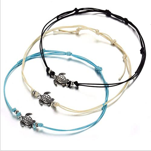 Vintage Women Ankle Bracelet Beads Rope Barefoot Sandal Chain Anklet Jewelry Hot