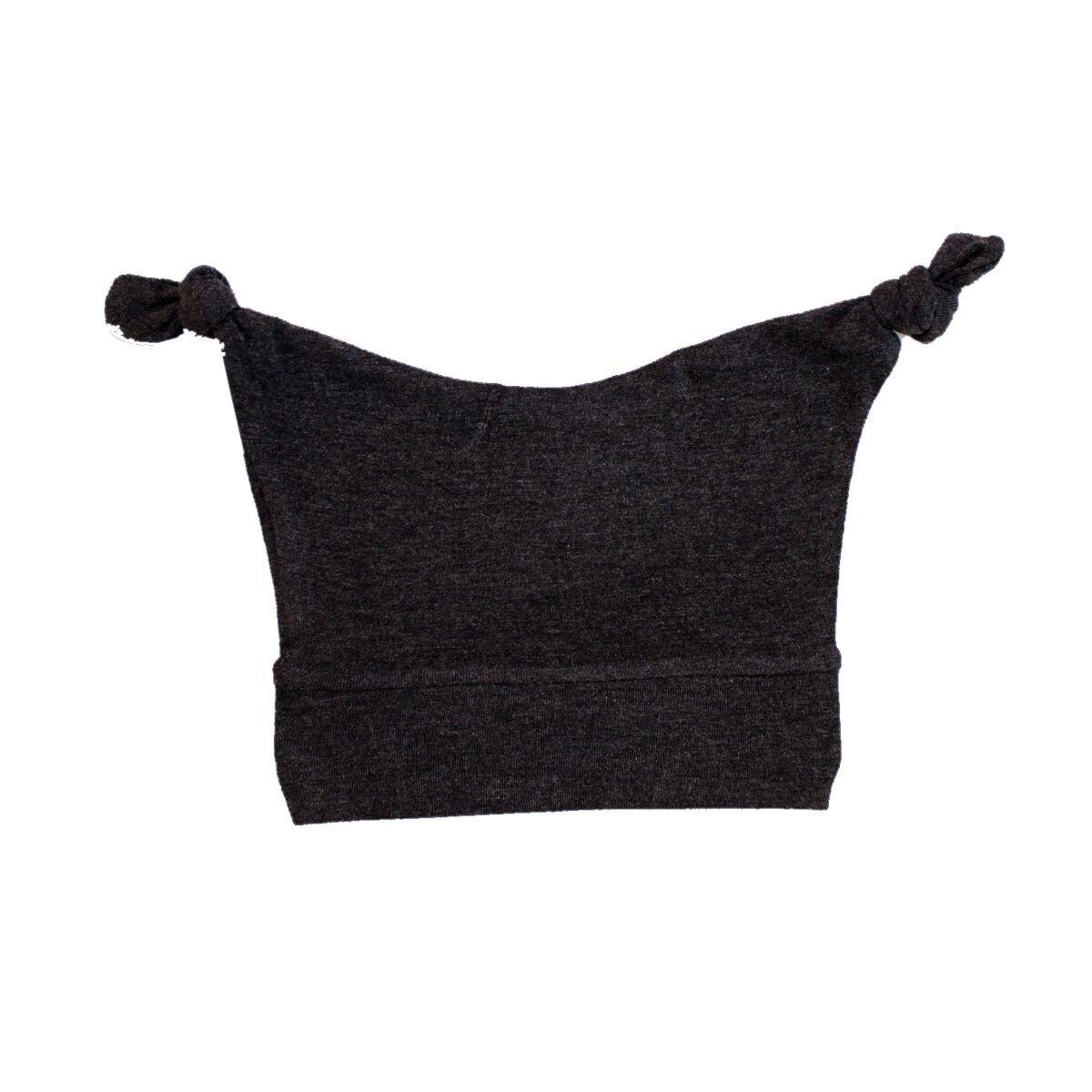 Black Rockstar 20-25 lbs Mod Swad Fashionable Bamboo Baby Knot Hat