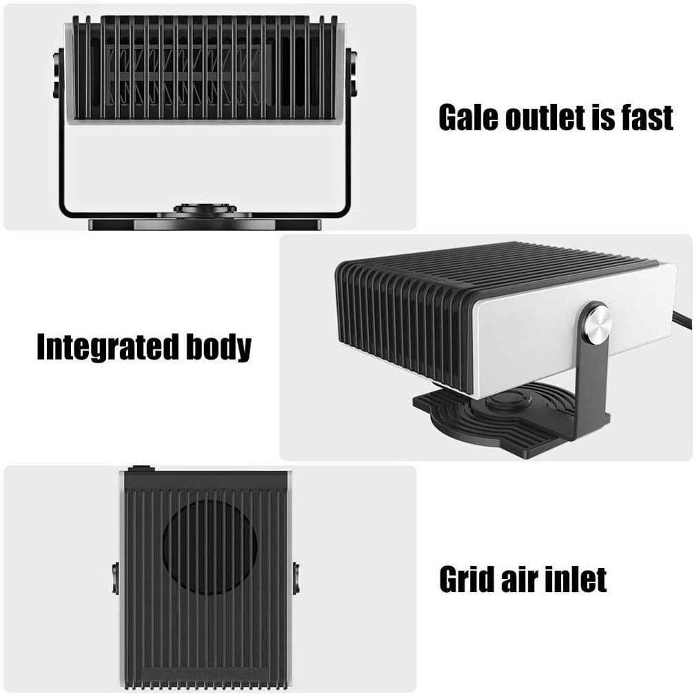 Desempañador Calentador de Coche 12V, LSNDEE Descongelador ...