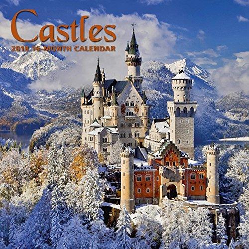 2018 Castles Wall Calendar