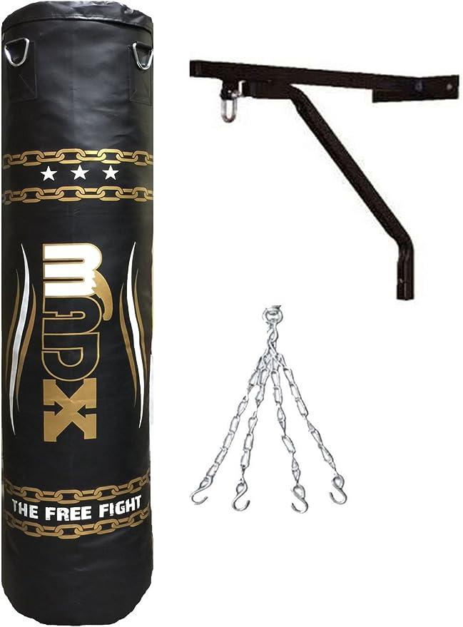 mat/ériel de fitness robuste 1,7 m MMA Maxstrength Sacs de frappe sur pied pour boxe ou kickboxing pour arts martiaux 1,8 m