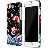 DDLBiz Christmas Pattern Fashion Protective Back Hard Case Cover For iPhone7 4.7Inch