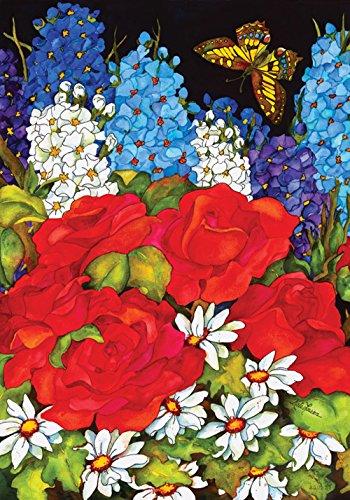 Toland Home Garden 119378 Beau Jardin 12.5 x 18 Inch Decorative, Garden Flag (12.5