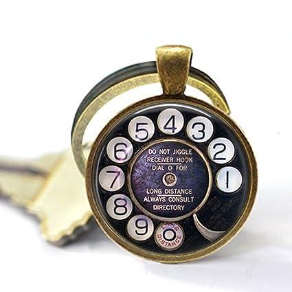 004b1b1e6cd Amazon.com  Old Telephone Dial - Nostalgic Jewelry - Telephone Dial ...