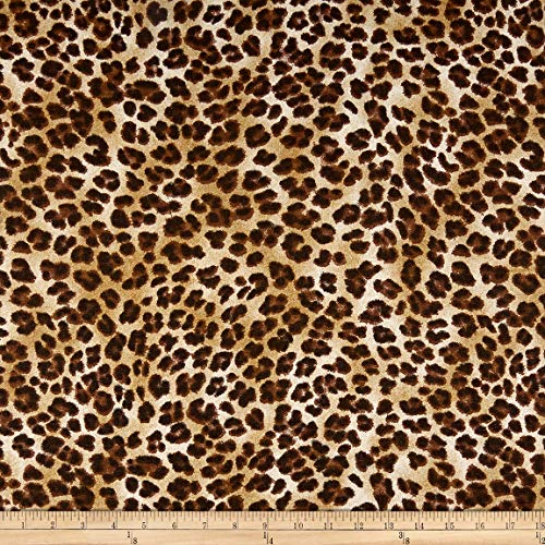 - Premier Prints 0362816 Amazon Leopard Sand Fabric by The Yard,