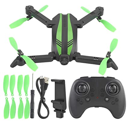 VGEBY1 Drone RC, Mini GW68 2.4G WiFi HD Cámara Quadcopter Drone RC ...
